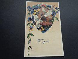 Carte ( 1248 )  Gaufrée  Reliëf   Fantaisie  Fantasie - Fantaisies