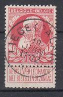 BELGIË - OPB - 1905 - Nr 74 - T1L (LIEGE (PALAIS)) - COBA + 4.00 € - 1905 Thick Beard