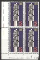 DDR 4x2639 Eckrandviererblock Mit Druckvermerk ** Postfrisch - [6] Repubblica Democratica
