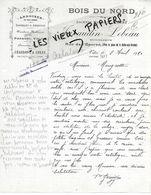 35 - Ille-et-vilaine - VITRE - Facture JAVAUDIN-LEBEAU - Bois Du Nord, Ardoises, Charbons Et Cokes - 1920 - REF 155B - France