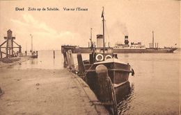 Doel - Zicht Op De Schelde - Vue Sur L'Escaut (animatie Boot) - Beveren-Waas