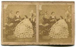 Photographie Stéréoscopique Couleurs époque Napoléon III - Stereoscopic