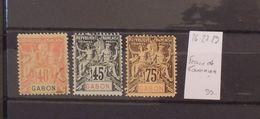 06 - 20 - Gabon - N° 26 - 27 - 29  - Faux De Fournier - Gabon (1886-1936)
