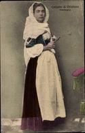 Cp Costume Di Oristano, Sardegna, Junge Frau In Italienischer Tracht - Kostums