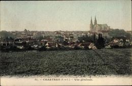 Cp Chartres Eure Et Loir, Vue Generale - France