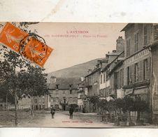 L' Aveyron -   Place  St - Genies - D'  Olt -   Place  Du Foirail. - France