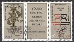 DDR 2697/98 Dreierstreifen O Tagesstempel - [6] Repubblica Democratica