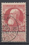 BELGIË - OPB - 1905 - Nr 74 - T1L (LIEGE/EXPOSITION) - COBA + 2.00 € - 1905 Barba Grossa