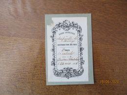 AMFREVILLE LA MIVOIE LE 24 AOÛT 1856 DISTRIBUTION DES PRIX 2e PRIX DE CALCUL DECERNE A M. GUSTAVE CHATELAIS - Diploma & School Reports
