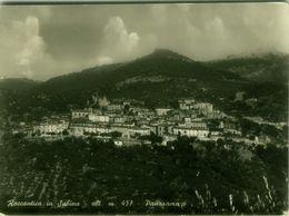 ROCCANTICA IN SABINA ( RIETI ) PANORAMA - EDIZIONE COLLI - SPEDITA 1955 ( BG4156) - Rieti