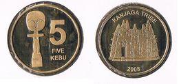 Kanjaga Tribe ( Burkina Faso) - 5 Kebu -2008 - Münzen