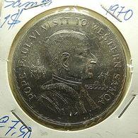 Samoa 1 Dollar 1970 Pope Paul VI Visit To Western Samoa - Samoa