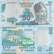 Malawi  P-58  50 Kwacha 2012  UNC - Malawi