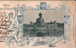 ! Alte Ansichtskarte Gruss Aus Coblenz, Koblenz, Denkmal, 1900 - Koblenz