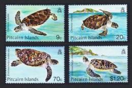 Pitcairn Turtles 4v MNH SG#281-284 SC#266-269 - Stamps