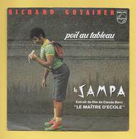 Disque Vinyle 45 Trs :  RICHARD GOTAINER :  POIL AU TABLEAU..Scan A  : Voir 2 Scans - Vinyl-Schallplatten