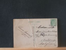 88/056 LETTRE  INDIA POUR BELG. PLI - India (...-1947)