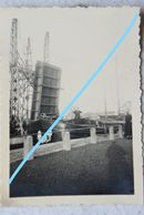 Photo Région JEMAPPES Ecluse Péniche Binnenschepvaart Barge Occupation Belgium Hainaut Guerre - Plaatsen