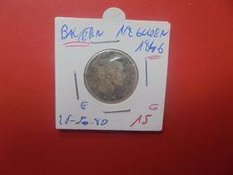 BAYERN 1/2 GULDEN 1846 ARGENT (A.15) - Groschen & Andere Kleinmünzen