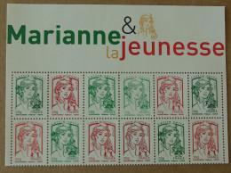 "T4-A8 : Marianne Ciappa & Kawena Avec Bord De Feuille ""Marianne Et La Jeunesse"" - 2013-... Marianne Van Ciappa-Kawena"