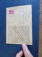 ENTIER REPIQUE DE 1963 Assurance - 1946-.. République