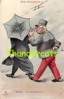 CPA ILLUSTRATEUR NORWINS ARTIST SIGNED NORWIN'S HUMOUR HUMOR ( PLI D'ANGLE - CORNER CREASE ) - Norwins