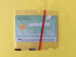 Andorra Andorre Tarjetta Télécarte NSB UNICEF Treballem Pel Benestar Enfants - Andorre