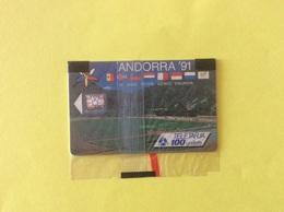 Andorra Andorre Tarjetta Télécarte NSB Emprenem Un Nou Vol Sport - Andorre