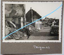 Photo FEIGNIES Région Quévy Le Grand Malplaquet Bettignies Maubeuge Destructions Occupation 1941 - Lieux