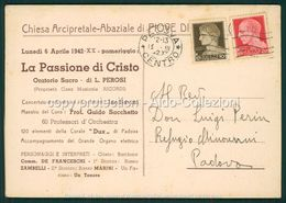 Padova  Omaggio Al Monsignor Vescovo Carlo Agostini Conte Di Piove Di Sacco FG P461 - Padova (Padua)