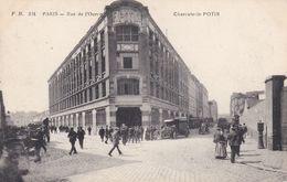 PARIS ,  Rue De L'ourcq CHARCUTERIE POTIN - Arrondissement: 19