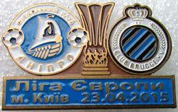 Pin Europa League 2014-2015 1/4 Final Dnipro Dnipropetrovsk - Brugge 2 - Calcio