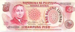 Philippines  P-163b  50 Piso  1978  UNC - Philippines
