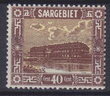 Saargebiet MiNr. 91 ** - 1920-35 League Of Nations