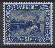 Saargebiet MiNr. 92 ** - 1920-35 League Of Nations