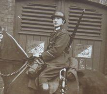 Photox2 ABL CHASSEUR A CHEVAL Uniforme Cavalerie Circa 1925 Belgische Leger Armée Belge Militaria Sabre Sword - War, Military