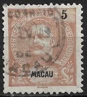 Macau Macao – 1903 King Carlos 5 Avos - Macao