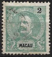 Macau Macao – 1903 King Carlos 2 Avos - Macao