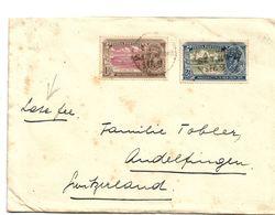 IB008a / BRIT. INDIEN - Neuer Regierungssitz New Delhi 1931 Nach Andelfingen, Schweiz (late Fee) - India (...-1947)