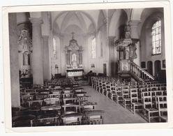 43650 - Thieu  Intérieur église   Photo  12  X  9 - Le Roeulx