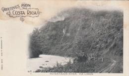 *** Greeting From COSTA RICA - Reventazon River Via Limon- Unused - Costa Rica