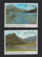 Ireland Eagle's Nest Birds 50th Anniversary Of Killarney National Park Scenery Nature 2v MNH SG#510-511 MI#460-461 - Ungebraucht