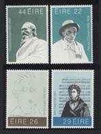 Ireland Writers Composer Music Anniversaries Of Cultural Figures 4v MNH SG#516-519 MI#468-71 - Ungebraucht