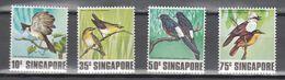 Singapore 1978,4V,set,birds,vogels,vögel,oiseaux,pajaros,uccelli,aves,MNH/Postfris(A3787) - Unclassified