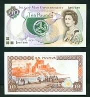 ISLE OF MAN  -  2007  £10  Signature  Shimmin  UNC Banknote - [ 4] Isla Man / Isla Channel