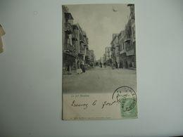 Cpa 1903 Alexandrie  Rue Fort Napoleon    Edi Pierre Agoplan - Alexandrie