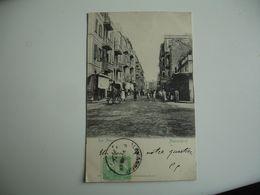 Cpa 1903 Alexandrie  Rue Attarine    Edi Pierre Agoplan - Alexandrie