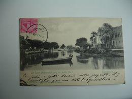 Cpa 1903 Alexandrie  Canal Mahmoudich Pres Jardin 3   Edi Pierre Agoplan - Alexandrie