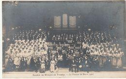 TOURNAI - PHOTO CARTE -  Société De Musique De Tournai, La Passion De Bach  1911 - Tournai