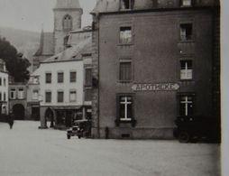 Photo ECHTERNACH 1928 Place Apotheke Pharmacie Voiture Maisons Luxembourg - Plaatsen